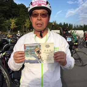 チュウデ理事長★国際サイクリング大会・サイクリングしまなみ70キロ完走