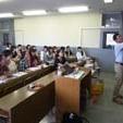 造形専門課程フリーゼミ 陶芸家の十河隆史さんに講義いただきました!