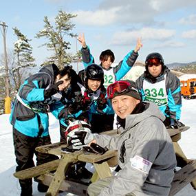 ホワイトリゾートに輝く...涙と笑いのスキー&スノーボード!!