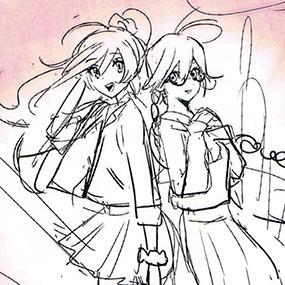 Let´s making!!デザインで戦う芸術系女子 イメージキャラクター