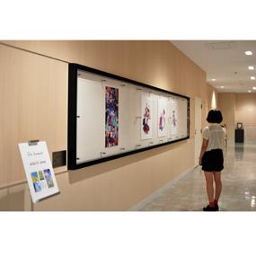 イオンモール岡山で作品展示をしています!