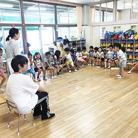 高等課程 鹿田保育園ボランティア体験!!