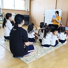 高等課程 集中講座〜岡北保育園へ