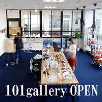 クリエイション発信の場!!アンテナショップ 101gallery(イチマルイチギャラリー)オープン