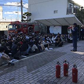避難訓練と防災講習会を実施しました!