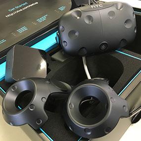 VR機器「HTC Vive」導入!!
