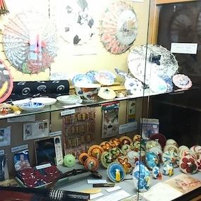 和傘デザイン展で作品が展示されました!