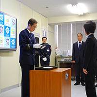 岡山市消防局公式マスコットキャラクターに採用されました。