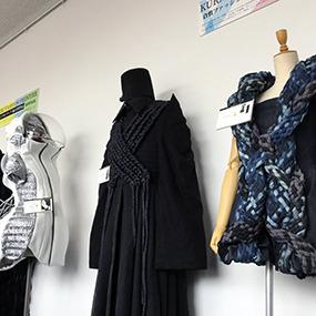 倉敷ファッションフロンティア歴代受賞作品展(中国デザイン専門学校 出品作品)