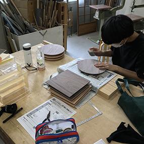 インテリア・プロダクト科 授業風景