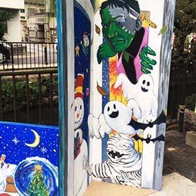 岡山市芸術祭 まちぶらりアートに出品
