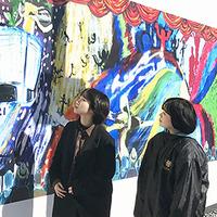2023年完成予定 岡山芸術創造劇場工事壁面に宮脇ゼミ生作成の壁画登場